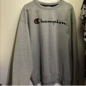 Authentic champion crew neck